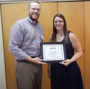 Brandy Williams BHSM Award 16