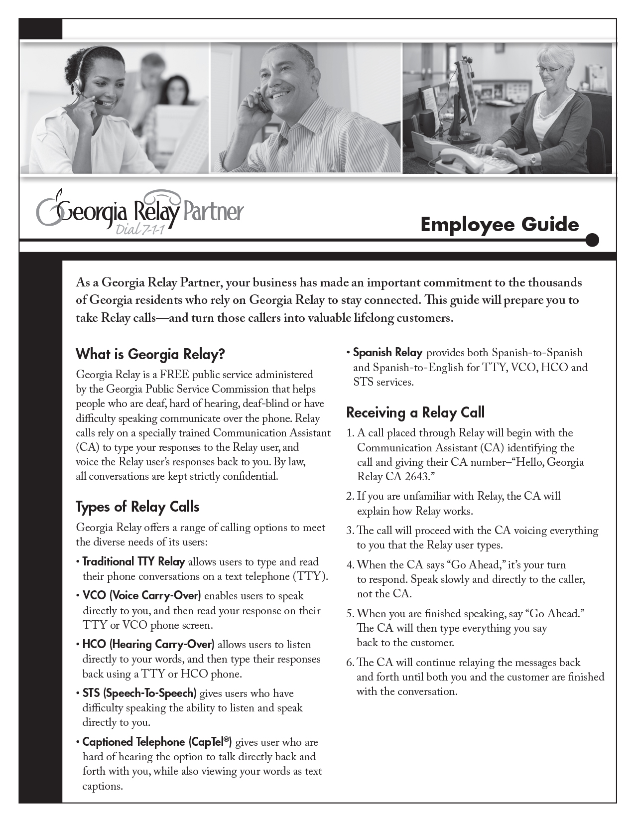 Employee Guide Snapshot