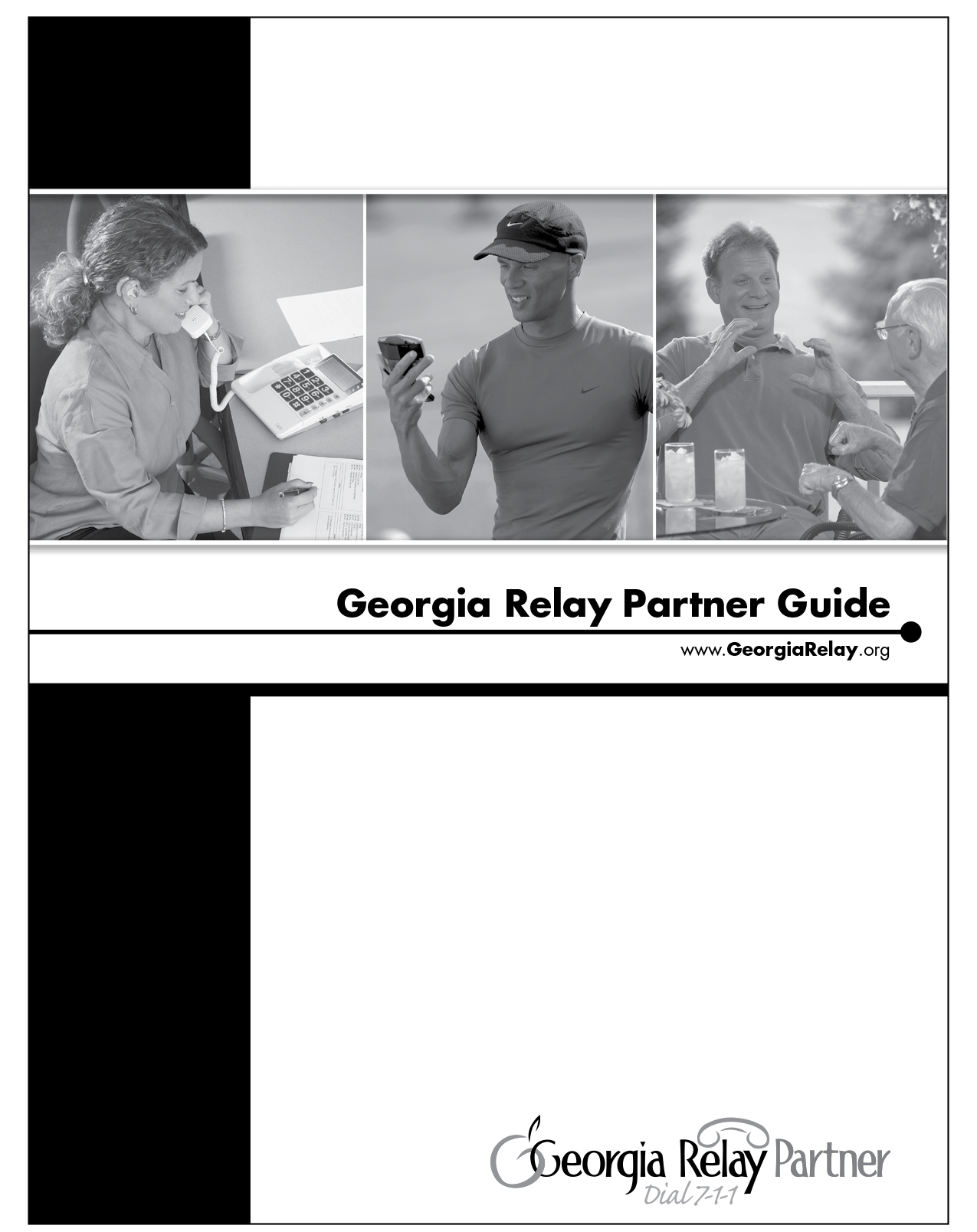 Relay Parnter Guide Cover