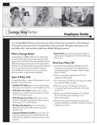 Employee Guide Snapshot